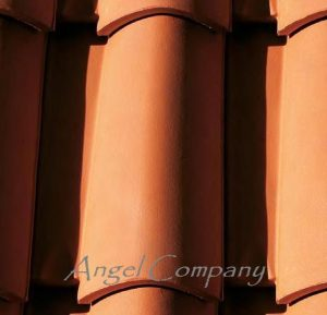 Tigla ceramica Italiana ZENITH AT11 ROSSO NATURALE ambient