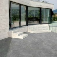 Gresie antiderapanta portelanata Silver Stone 200x200