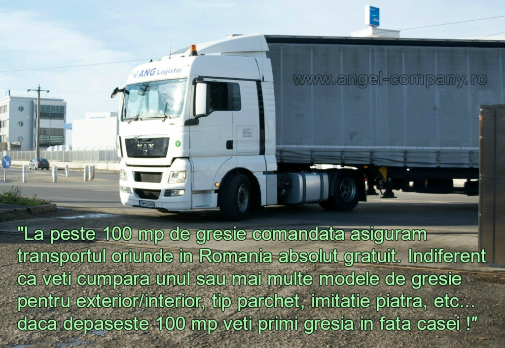 Transport gratuit Gresie Portelanata Angel Company