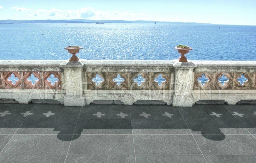 Gresie exterior Porfirite Grigio Opera Ceramiche