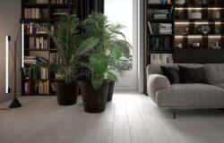 Gresie tip parchet Oak White 20x90 cm
