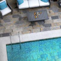 Gresie piscina gresie exterior Polinesia Idea Ceramica